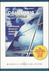 Hoffmann Brief Edition Calculus for Business, Economics, and the Social & Life Sciences 11/e